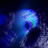 Lightdance - Foto + elaborazione digitale realizzate dall'artista - Fine Art Inkject Pigment Print con Epson P 9000 su carta di cotone Hahnemuhle William Turner Matte 310 g  cm 90 x 90