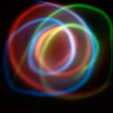 Sinfonie Cosmiche n. 1 - Luminogramma Fine Art Inkject Pigment Print  su carta di cotone Hahnemuhle William Turner Matte 310 g  cm 90 x 90