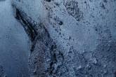 POLVERE - Tempera su tela di cotone con pigmenti naturali e pigmenti metallici + paste materiche cm 30 x 30 - 2011