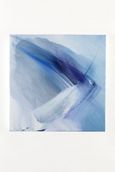 ... INCONTRO ALLE STELLE - Tempera su tela di cotone con pigmenti naturali - cm 40 x 40 - 2011