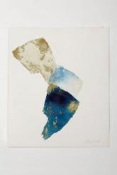 SCAGLIE DI CIELO - Stampa originale calcografica - Acquaforte a rilievo su zinco cm 47 x 39 - 1997