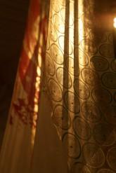 CONVERSAZIONE – Installazione Metamorfosi 2010 Stampe originali xilografiche e inkjet UV impresse dall'artista - interventi in foglia oro e rame  su piallacci di varie essenze - cm 240x35 - Esemplari unici numerati - 2010