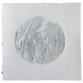 ILLUSIONE - Illusione - Calcografia con  paste materiche, stampa con inchiostri ad effetto - raggio cm. 8 - 2012