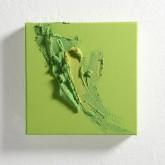 ACCENTI SEI - Tempera con pigmenti preparati dall'artista + paste materiche - 2014 - cm 20 x 20