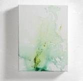 AMORE - Tempera con pigmenti preparati dall'artista + paste materiche - 2014 - cm 18 x 24
