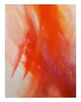 ROSSO - 2013 - tempera preparata dall'artista su tela - cm 120x100
