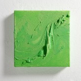 ACCENTI SETTE - Tempera con pigmenti preparati dall'artista + paste materiche - 2014 - cm 20x20