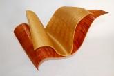 3DBOOK , 2017 – Alessandra Angelini - Pagine in progress – Filamentp in PLA – Stampa 3D